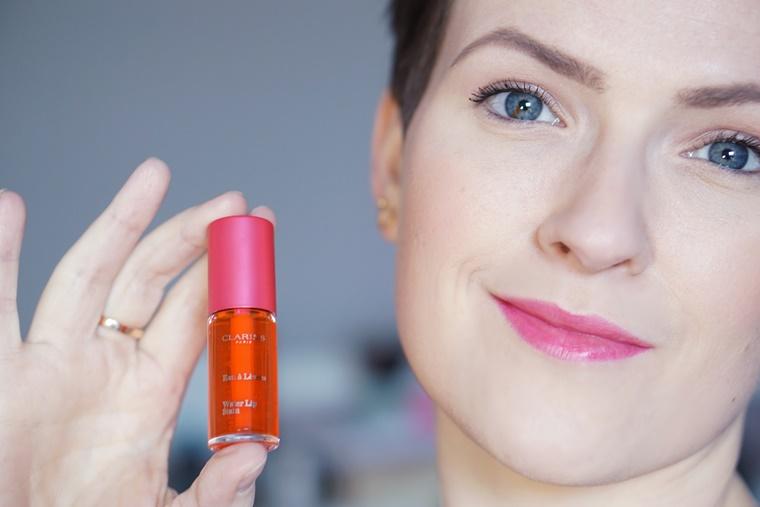 clarins water lip stain - Beauty Talk #9 | Nieuwe luxe producten ♥
