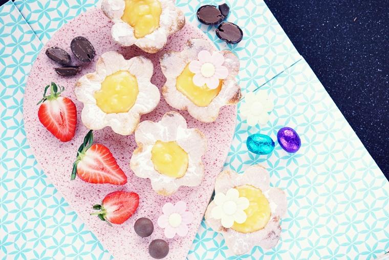 lemon curd recept Pasen 4 - The Cookie Bakery | Lentebloemen met lemon curd