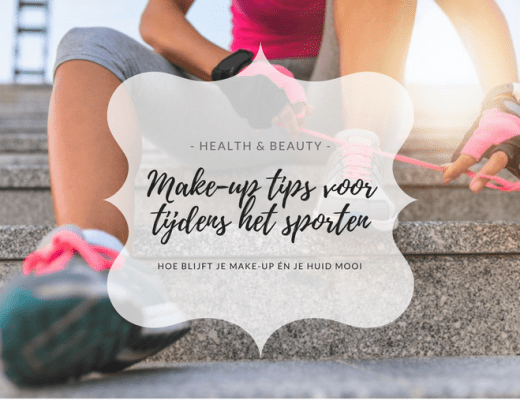 make-up tijdens sporten