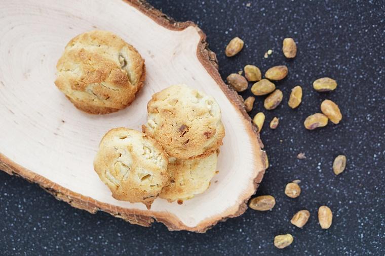 pistachekoekjes recept 2 - The Cookie Bakery | Pistachekoekjes met een twist
