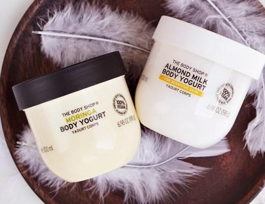 the body shop body yogurt