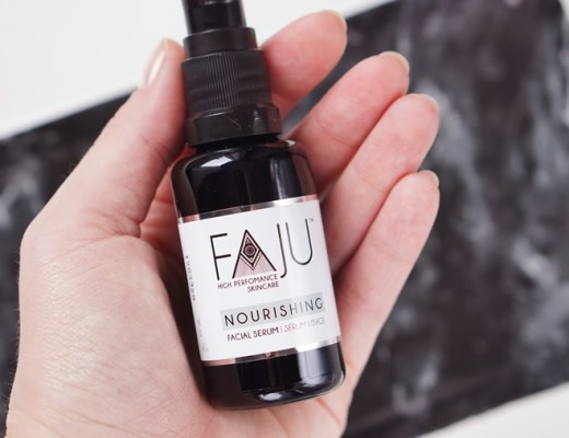 FAJU nourishing facial serum review