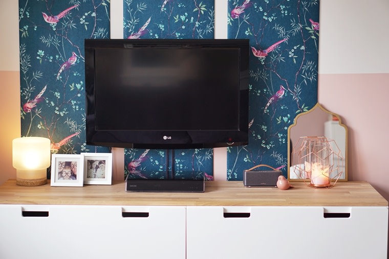 diy tv hoek 1 - Home | DIY mini make-over TV hoek
