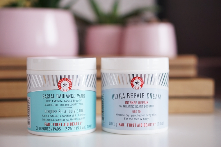 fab facial radiance pads & fab ultra repair cream review
