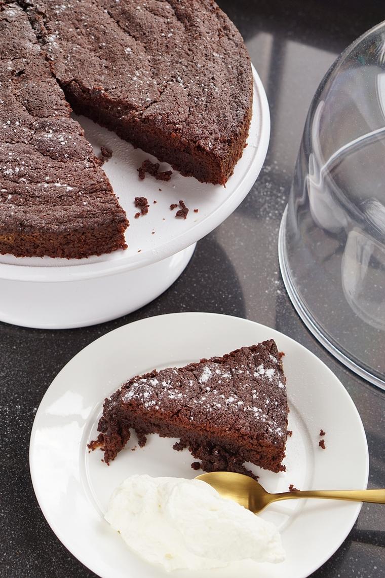 brownie cake recept 1 - Brownie cake