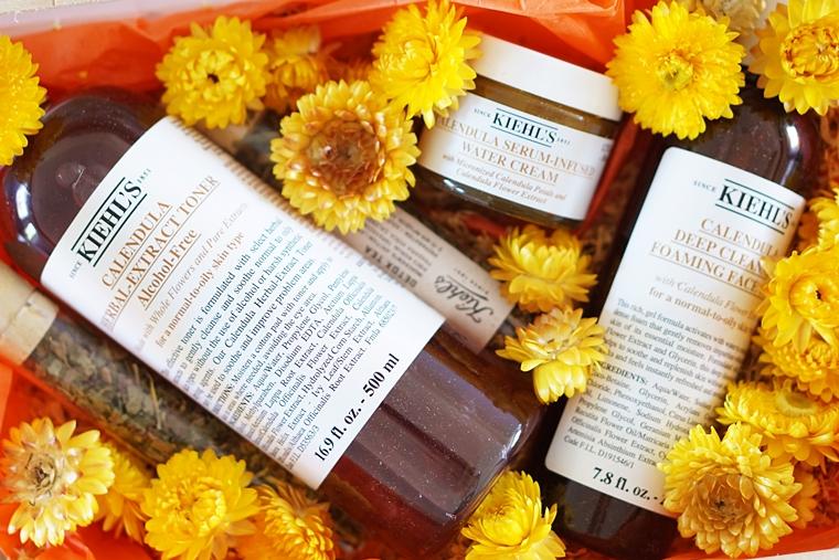 Kiehl's Calendula serum infused water cream review