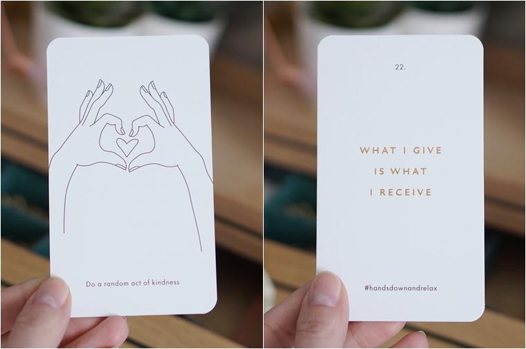 melissa kamstra de handcoach 3 - Cadeau-aan-jezelf-tip | #handsdownandrelax selfcare kaartendeck