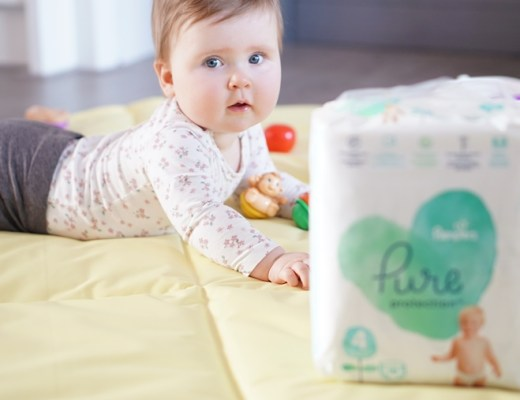 Pampers Pure Protection luiers / billendoekjes review / ervaring
