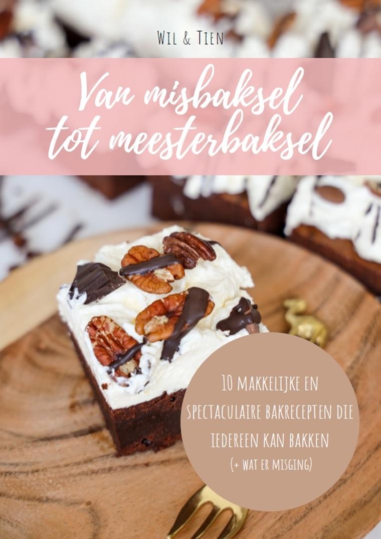 wil tien bakboek - Fudge met Bastogne en witte chocolade