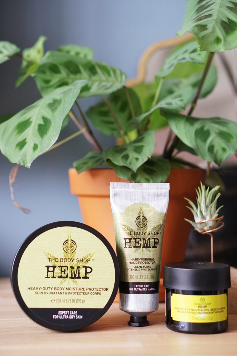 the body shop hemp 2 - The Body Shop Hemp producten