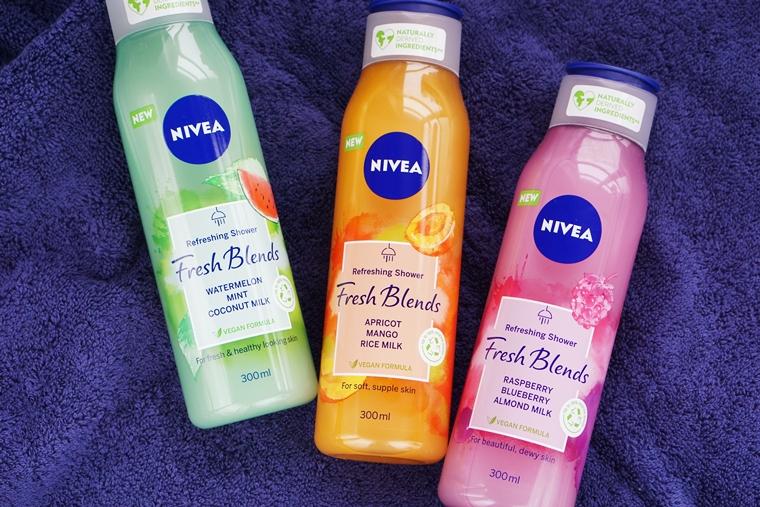 nivea fresh blends douchegel review 2 - Budget beauty tip | NIVEA Fresh Blends douchegel