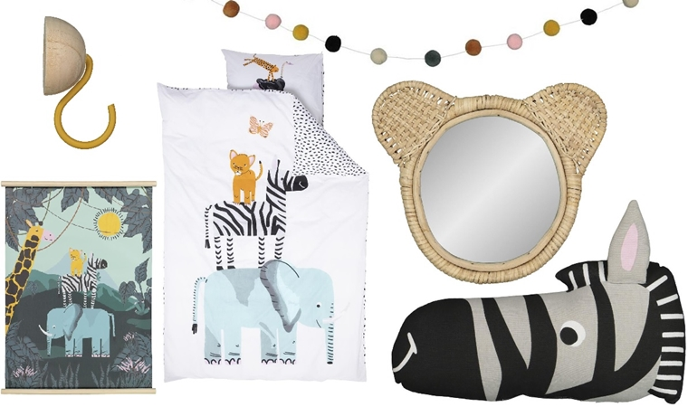 hema kids home 3 - Interieur | HEMA Kids Home safari collectie