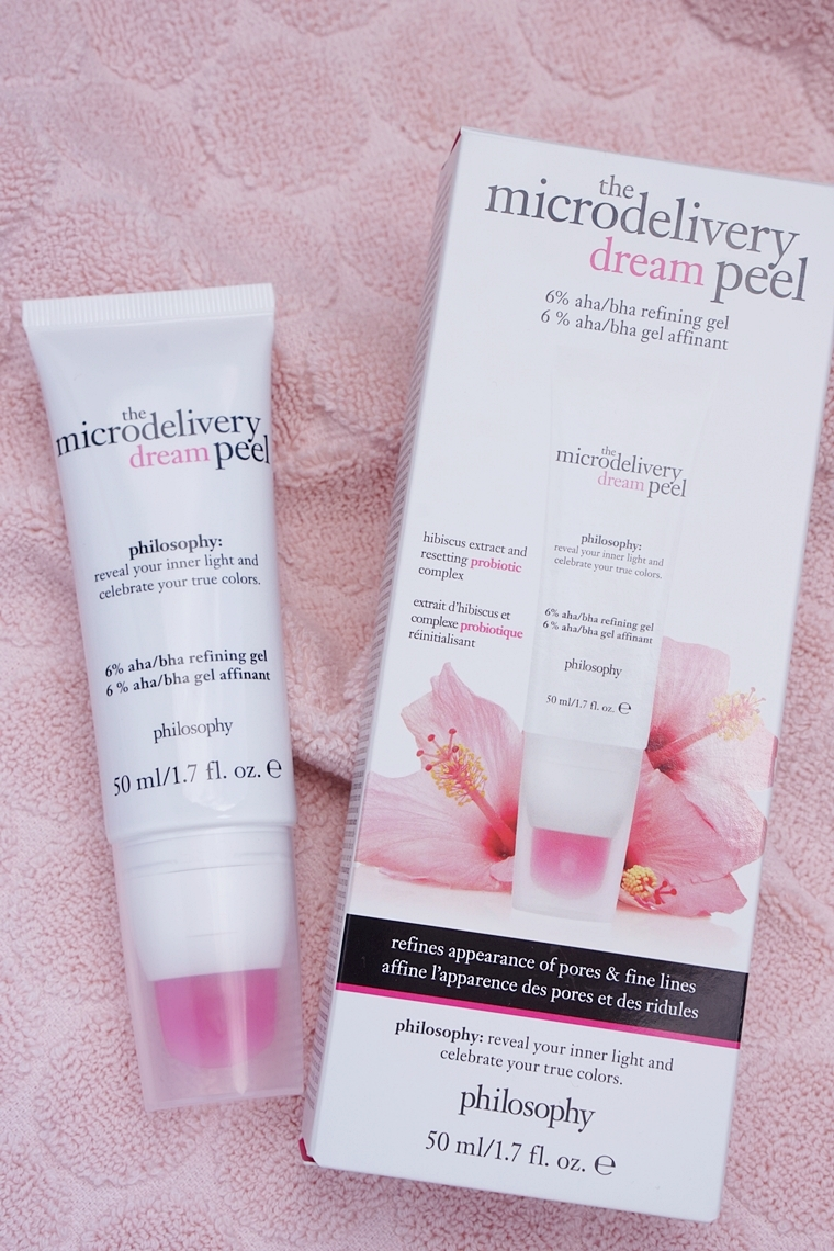 philosophy the microdelivery dream peel review 1 - philosophy | the microdelivery dream peel
