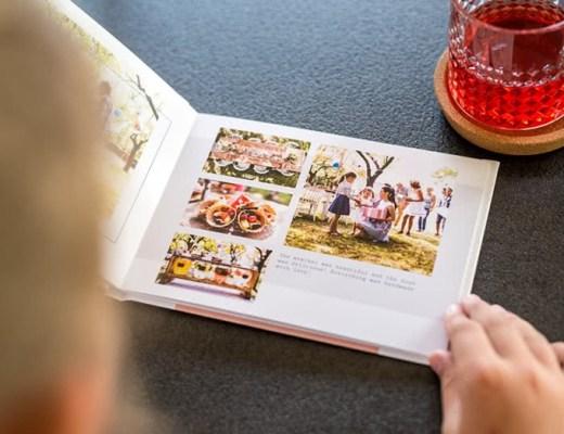 herinneringenboek maken foto's fotoboek zomer