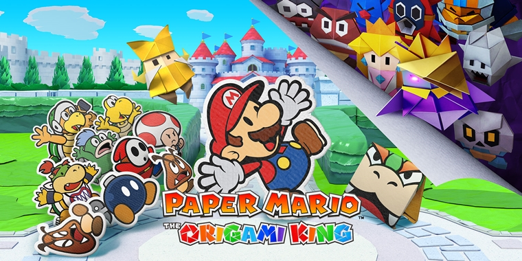 paper mario the origami king review 1 - Gametime | Paper Mario: The Origami King