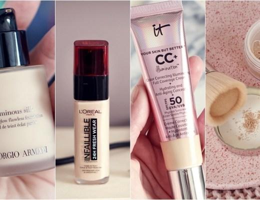 favoriete foundations (droge huid)
