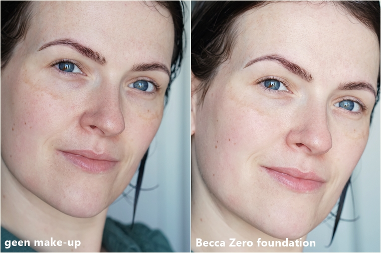 Becca zero foundation review 1 - Foundation Friday | Becca Zero foundation