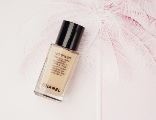 Chanel Les Beiges Healthy Glow foundation hydrating and longwearing review B20