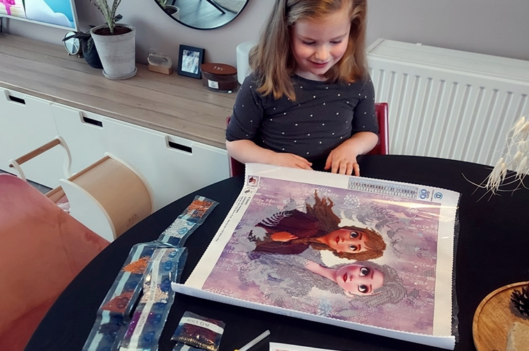 diamond painting fans frozen 4 - Nieuwe hobby | Diamond Painting!