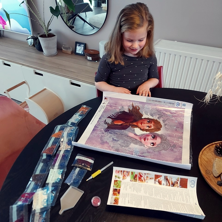 diamond painting fans frozen 5 - Nieuwe hobby | Diamond Painting!