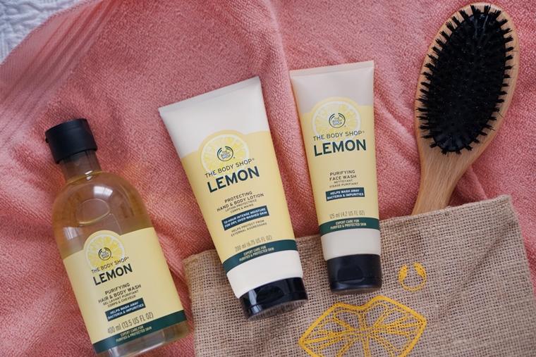 the body shop lemon review 1 - The Body Shop Lemon