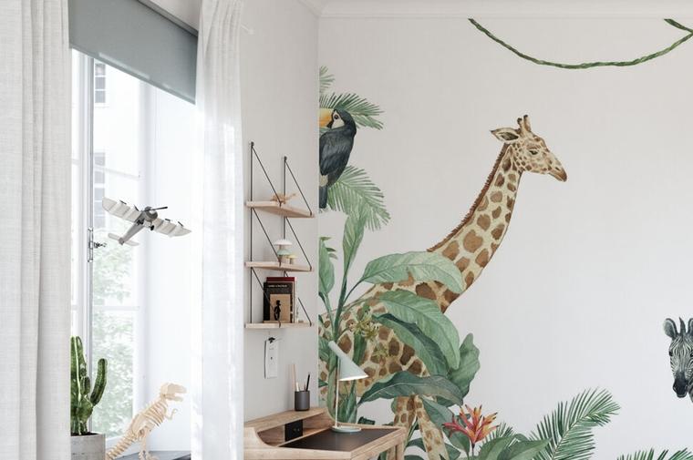 behang kinderkamer tips idee 1 - Home | 3 leuke ideeën voor fotobehang op de kinderkamer