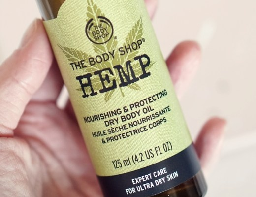 the body shop hemp dry body oil review 2 - Love it! | The Body Shop Hemp dry body oil