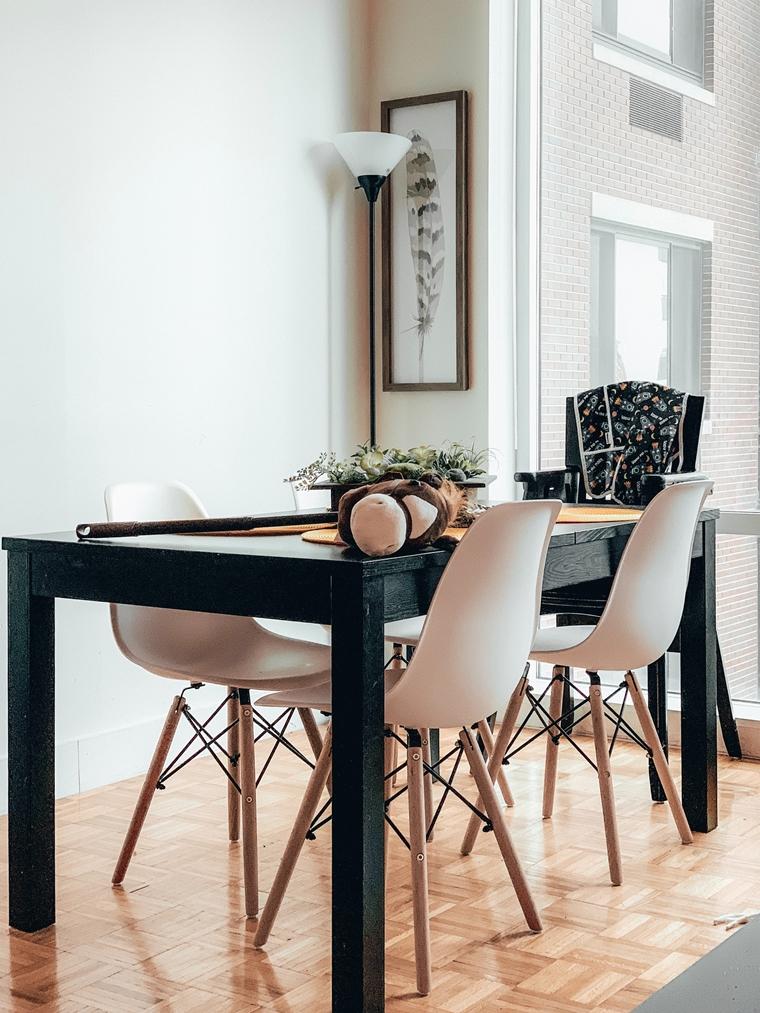 eethoek eettafel inspiratie interieur 11 - Interieur inspiratie | De eethoek als hart van het huis