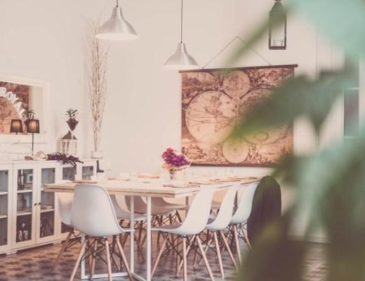 eethoek/eettafel interieur inspiratie