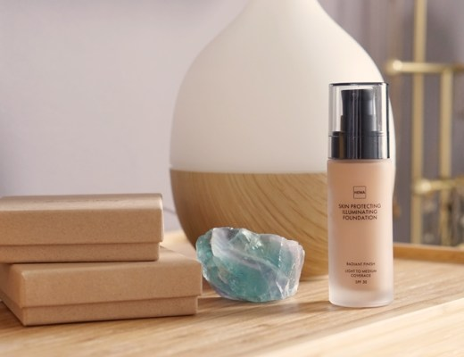 HEMA Skin Protecting Illuminating foundation review/ervaring (Neutral 01)