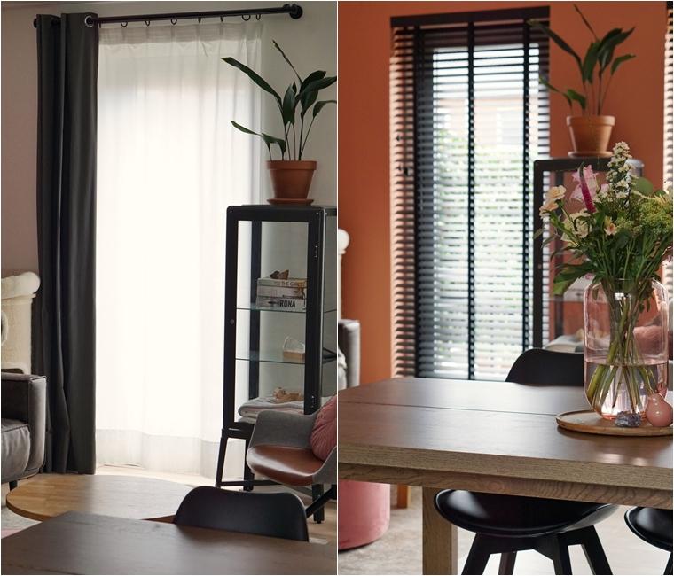 raamdecoratie bamboe houten jaloezieen 16 - Binnenkijken   Nieuwe raamdecoratie & meer kleur