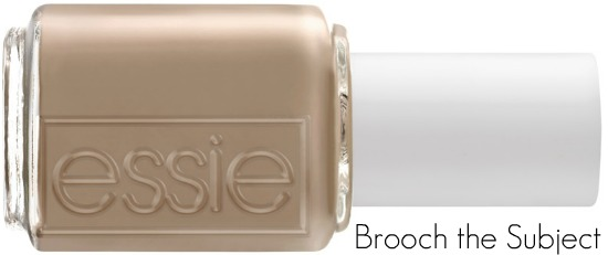 Brooch The Subject Front - Essie   Winter 2011 collectie 'Cocktail Bling' (persbericht)
