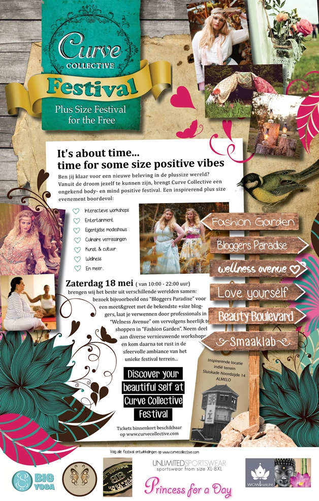 Curve Collective Festival Flyer definitief - Plussize | Curve Collective Festival