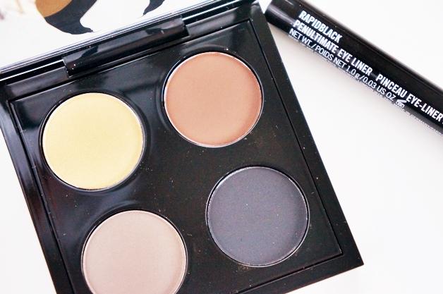 MAC maleficent eye quad palette penultimate rapidblack 2 - MAC Maleficent palette & Penultimate eye liner