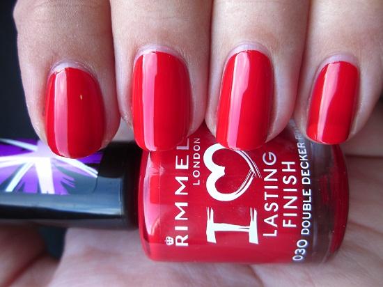 NOTD Rimmel DDR 1 - Rimmel | I Love Lasting Finish Nail Polishes