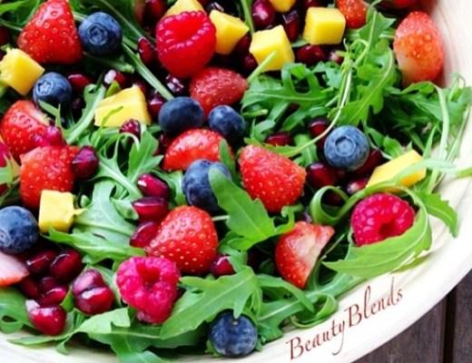 Salade lunch - Recept | Zomerse en kleurrijke salade