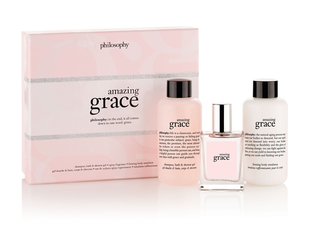 amazing grace mini layering set - Philosophy merry & bright kerstcollectie 2014