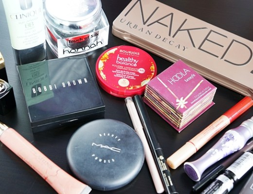 basismakeupstash1 - Wat zit er in een basis make-up stash?