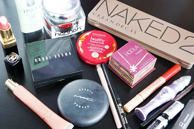 basismakeupstash1 - Wat zit er in een basis make-up stash?