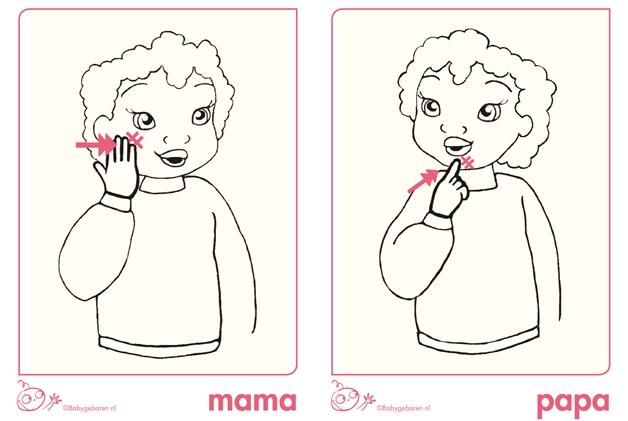 bijdehandjes gebaren 3 - Babytip | Sneller communiceren met je baby door babygebaren