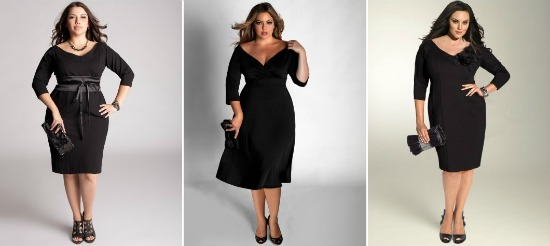 blackdresswinter4 - Plus Size | Black Dresses voor de winter/feestdagen