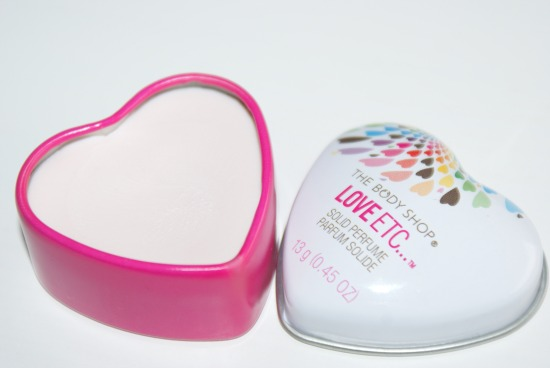 bodyshoploveetcsolidperfume - The Body Shop - Love etc... solid perfume