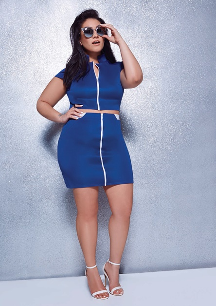 boohoo plus nadia Aboulhosn 3 - Plussize | Boohoo Plus x Nadia Aboulhosn collectie