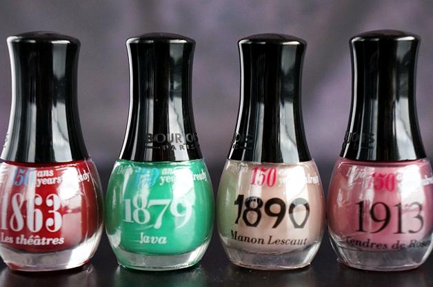 bourjois mini nagellak 150 jaar 4 - Bourjois mininagellak collectie