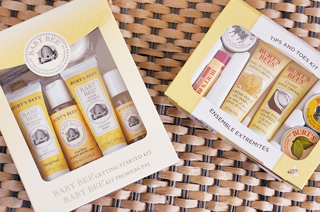 burts bees kit 1 - Burt's Bees | Tips and toes kit & Baby Bee getting started kit