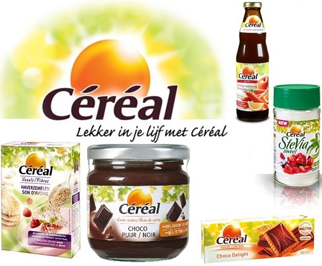 cerealwinactie - Win 1 van de 5 Céréal pakketten vol lekkere en gezonde producten!