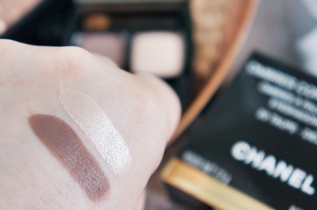 chanel ombres contraste duo taupe delicat 3 - Chanel eyeshadow duo Taupe Délicat