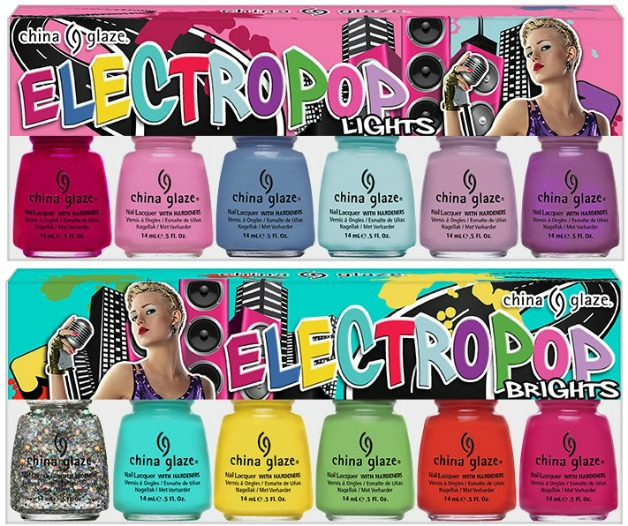 China Glaze Electropop Lights and Brights