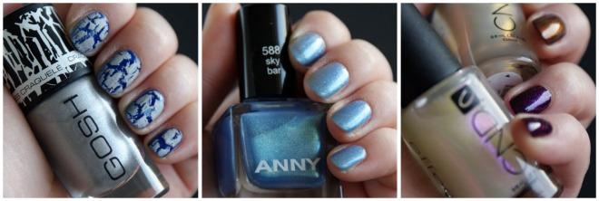 cndgoshanny - 3 from 1... Nagellak! | CND, ANNY & GOSH