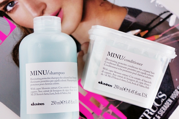 davines minu shampoo conditioner 1 - Davines essential haircare | Minu shampoo & conditioner